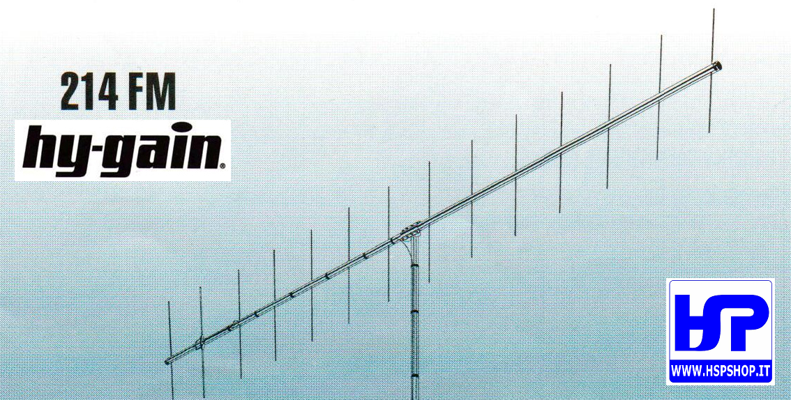HY-GAIN - 214FM -14 ELEMENTS YAGI VHF 144 MHz