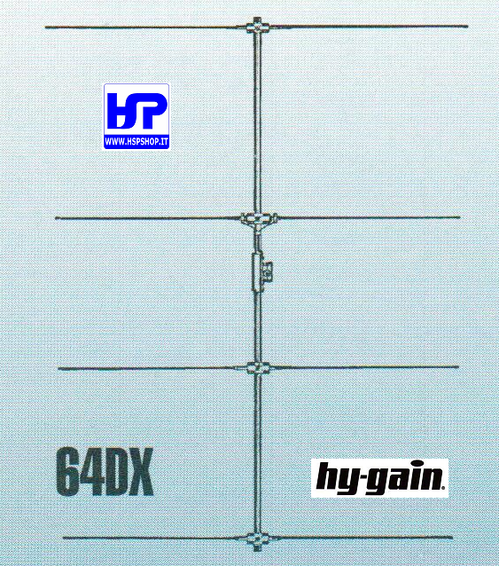 HY-GAIN - VB-64DX - YAGI 4 ELEMENTS 6 METERS