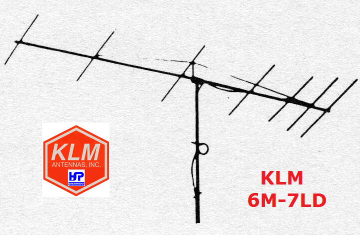 KLM - 6M-7LD - 7 ELEMENTS 6 METERS LIGHT DUTY