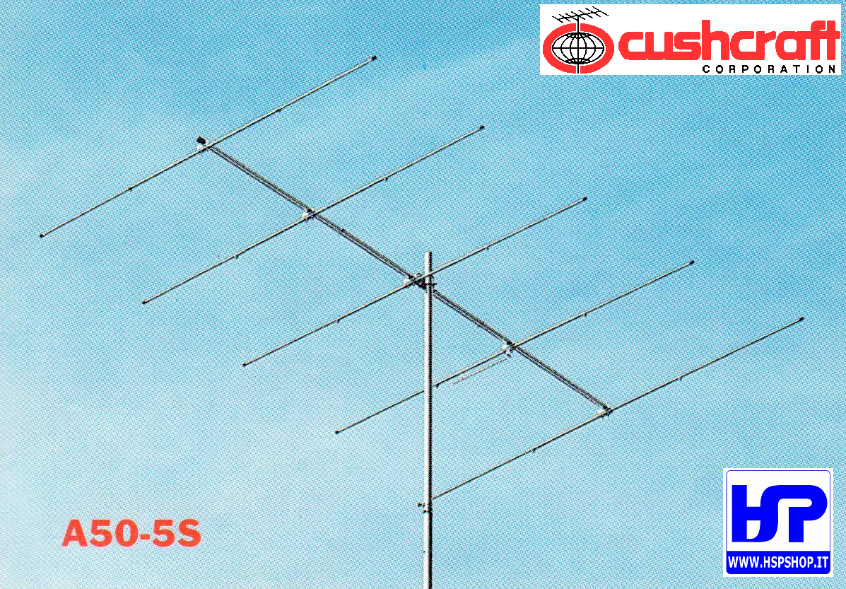 CUSHCRAFT - A50-5S - 5 ELEMENTS 6 METERS