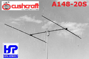 CUSHCRAFT - A148-20S - 2x10 ELEMENTS 2 METERS
