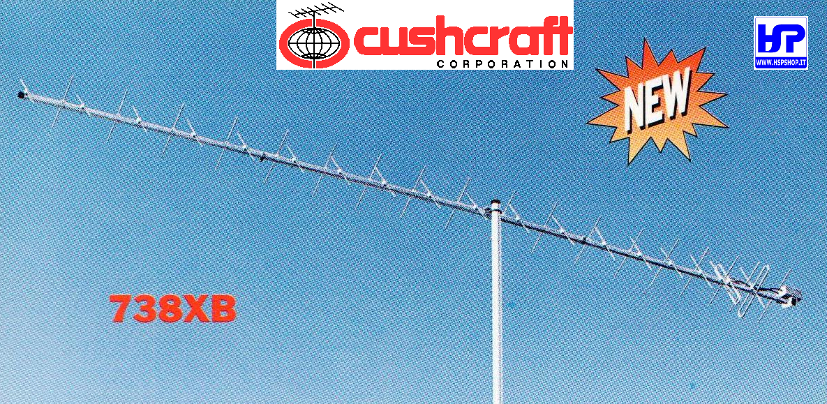 CUSHCRAFT - 738XB - 38 EL. CROSSED 432 MHz