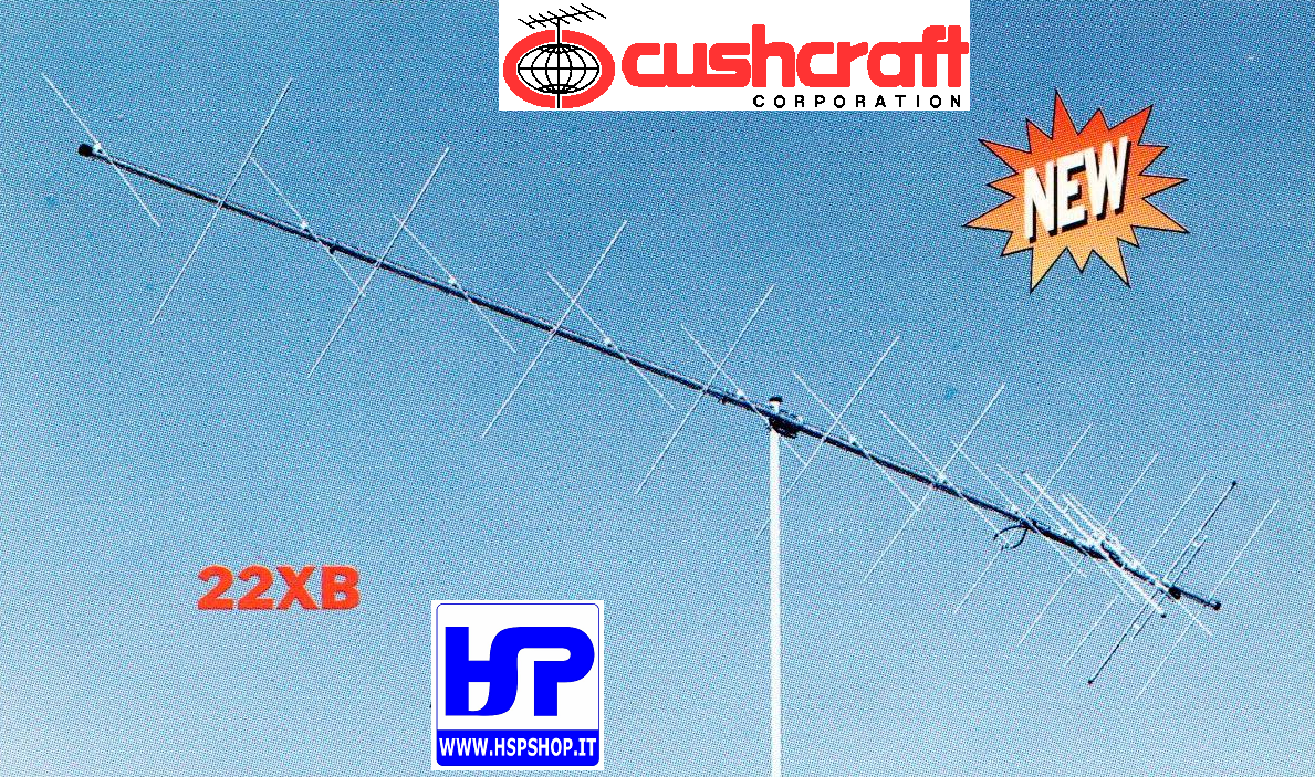 CUSHCRAFT - 22XB - 22 EL. CROSSED 144 MHz