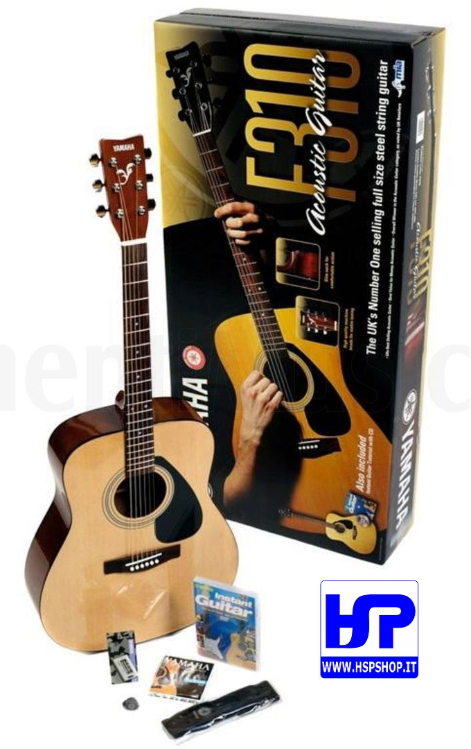 YAMAHA - F310P2 - FOLK GUITAR PACK
