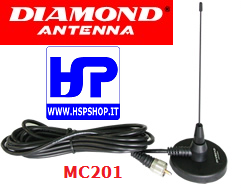 DIAMOND - MC201 - MAGNETICA 340-520 MHz