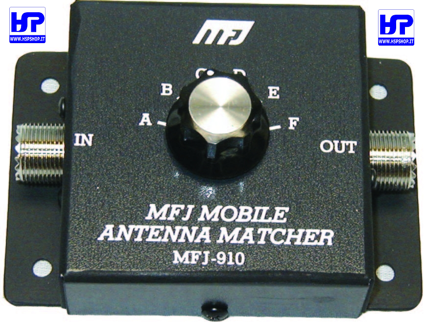 MFJ-910 - MOBILE ANTENNA MATCHER 200W -10-80M