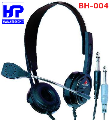 BH-004 - HEADPHONES WITH DYNAMIC MICROPHONE