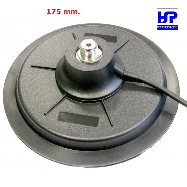 MB-MJ175 - BASE MAGNETICA 175 mm. ATTACCO PL