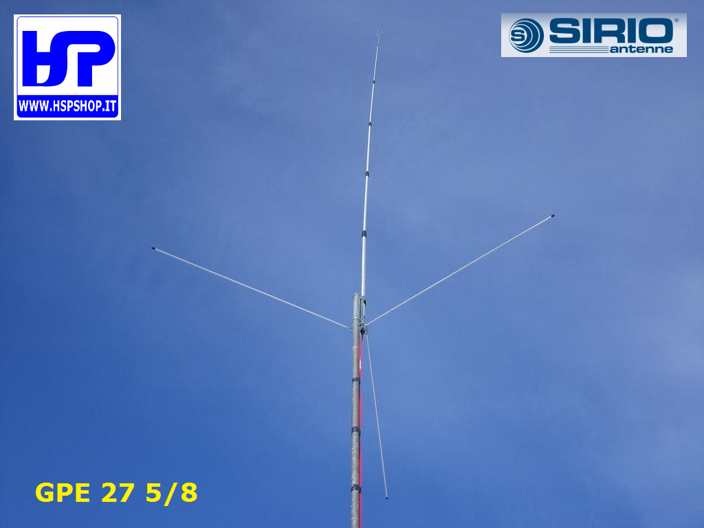SIRIO - GPE 5/8 - BASE TUNABLE 26.4-29 MHz
