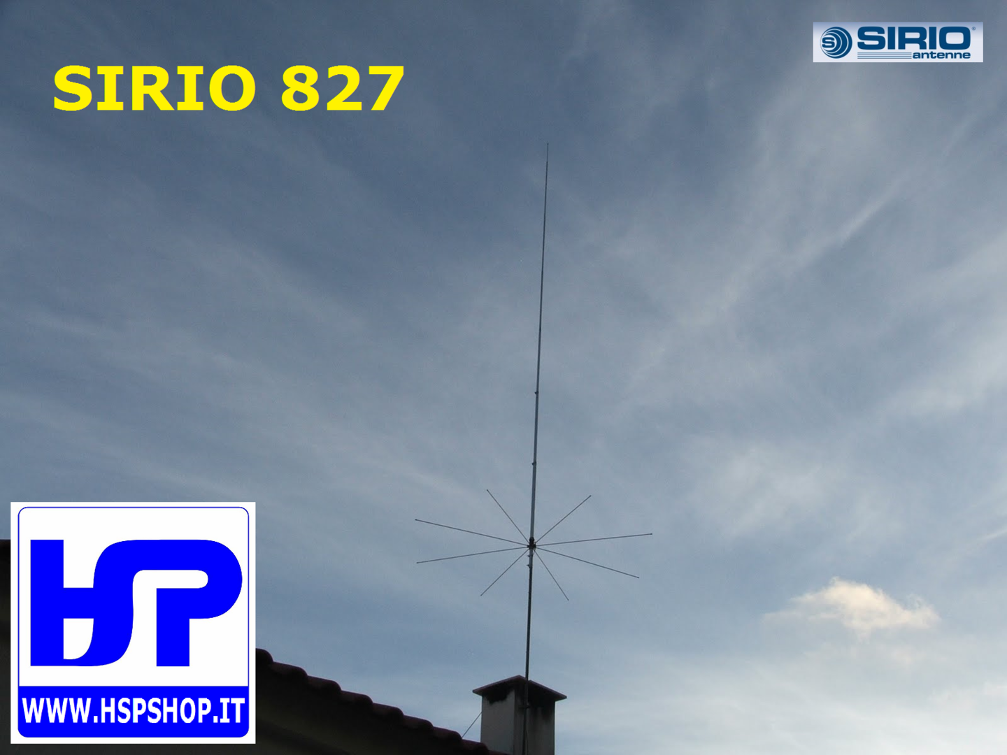 SIRIO - 827 - BASE 26.4-28.4 MHz TUNABLE