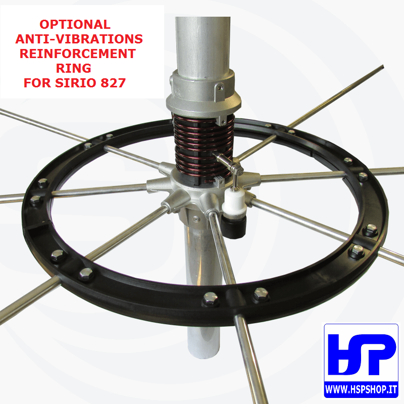 SIRIO - ANTI-VIBRATIONS RING FOR 827 ANTENNA