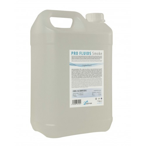 SMKFLD5L - SMOKE MACHINE FLUID 5 L. - LIGHT