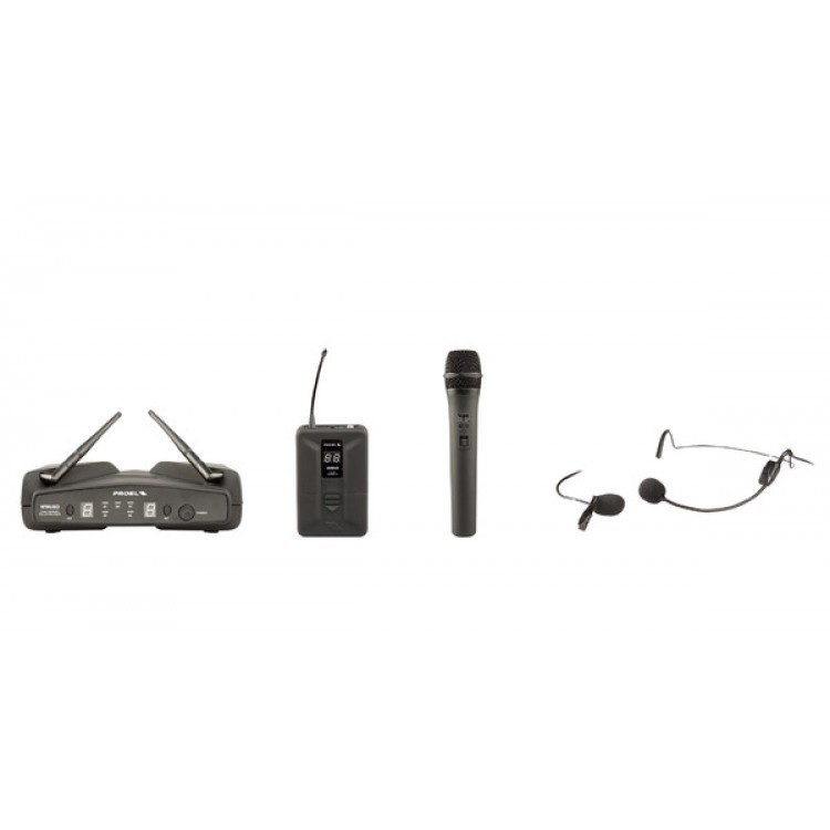 PROEL - WM600DKIT - SISTEMA WIRELESS DOPPIO