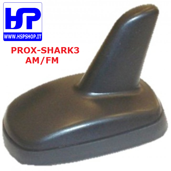 PROX-SHARK3 - ANTENNA AUTO AM/FM AMPLIFICATA