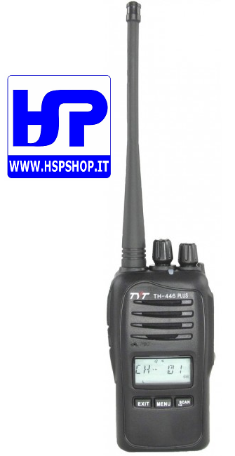TYT - TH-446 PLUS - PMR 446 TRANSCEIVER