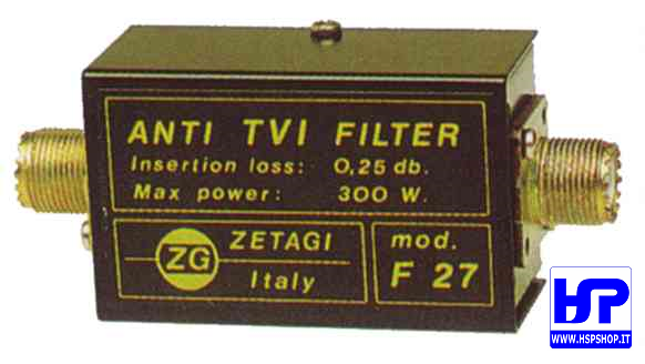 ZETAGI - F27 - ANTI-INTERFERENCE FILTER