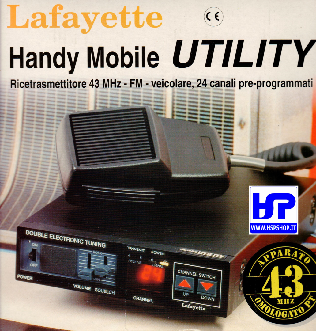 LAFAYETTE - MOBILE UTILITY 43 MHz 24 CHANNELS