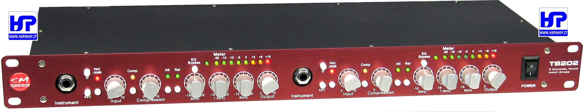 SM PRO AUDIO - TB202 - PREAMPLIFICATORE MIC.