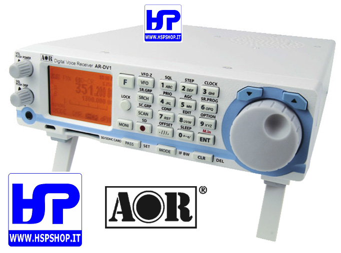 AOR - AR-DV1 - 100 kHz - 1300 MHz RECEIVER - HardSoft Products