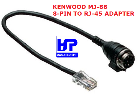KENWOOD - MJ-88 - 8-PIN TO RJ-45 ADAPTER