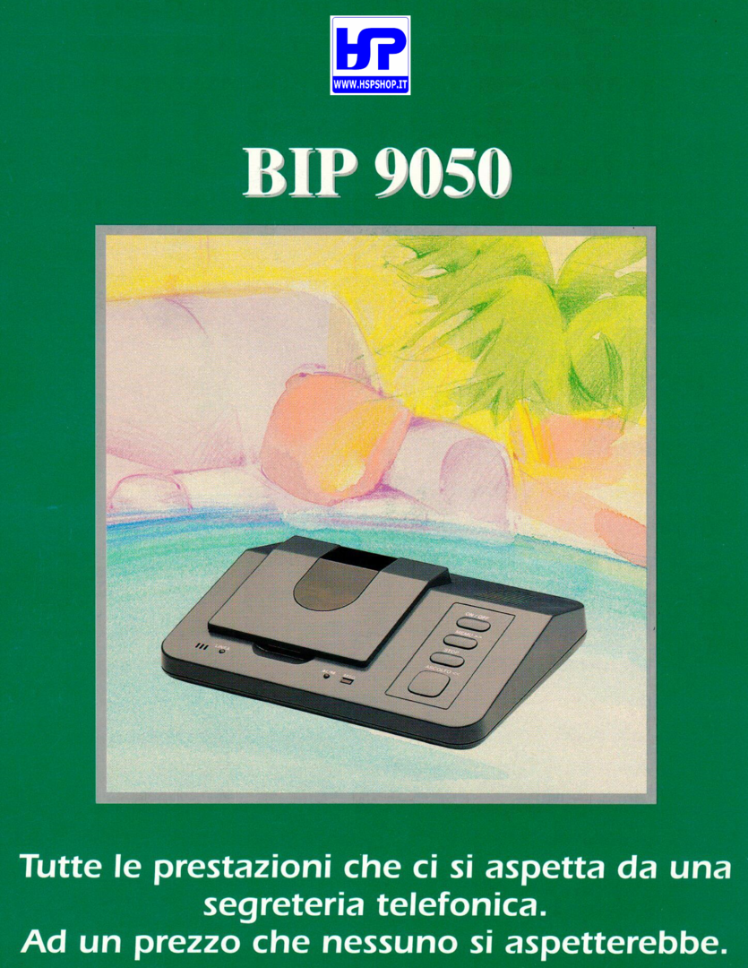 INSIP - BIP 9050 - ANSWERING MACHINE