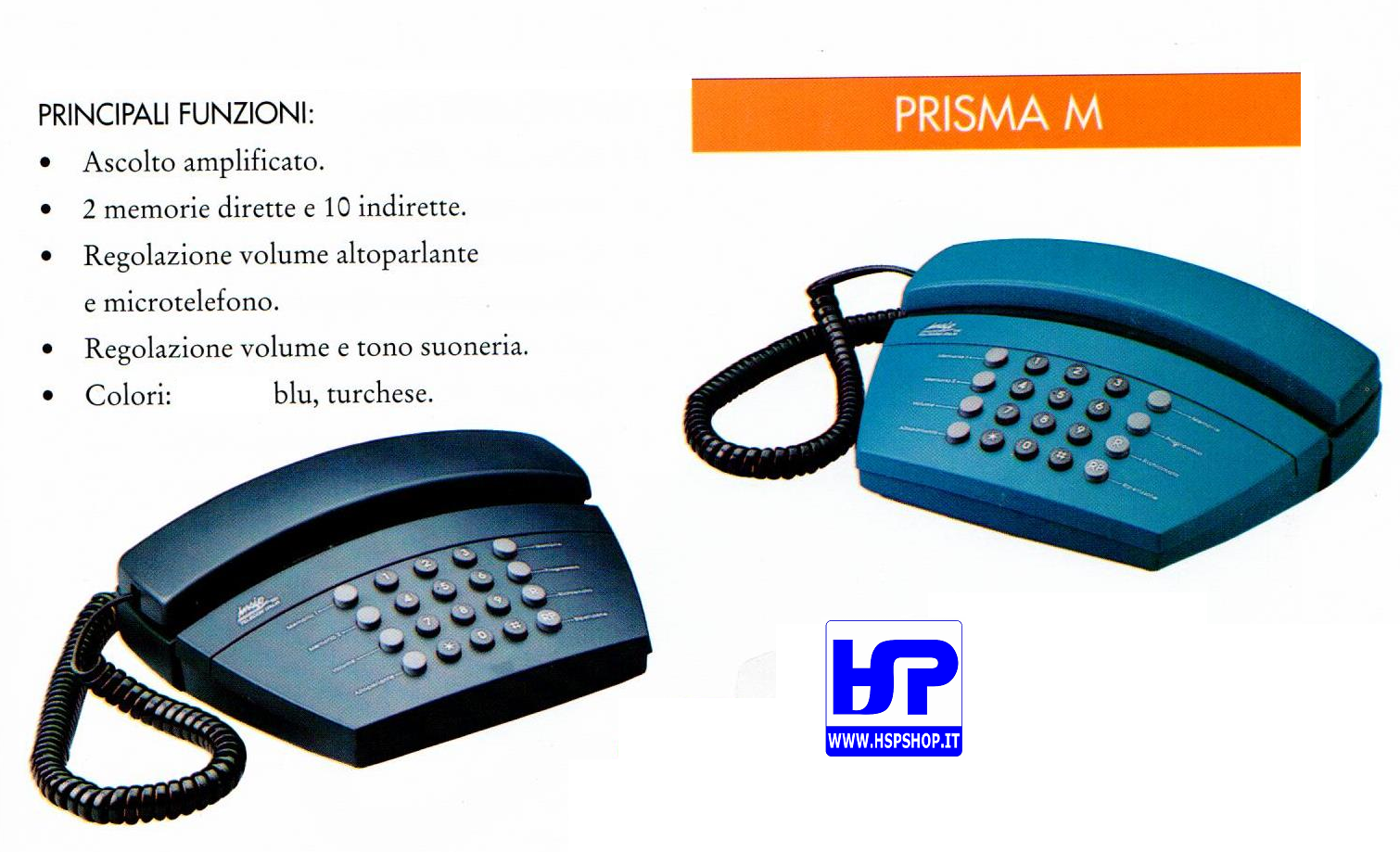 INSIP - PRISMA M - MULTI-FUNCTIONS TELEPHONE