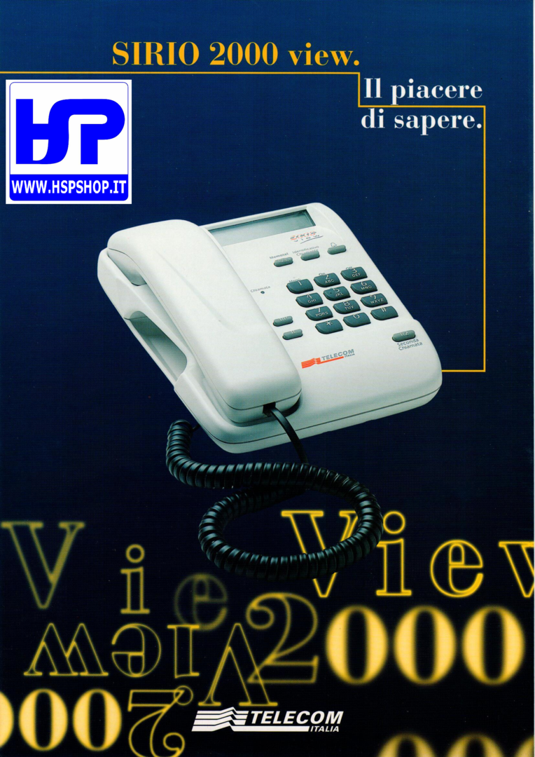 TELECOM - SIRIO 2000 VIEW - BASE TELEPHONE