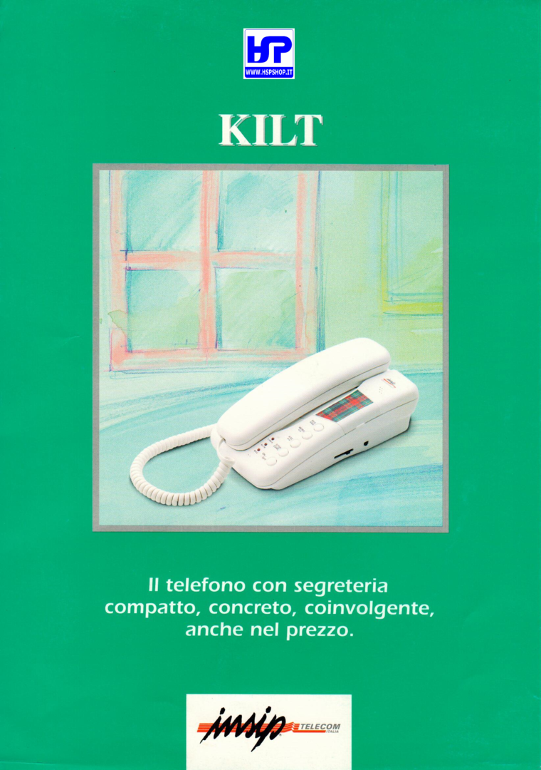 INSIP - KILT - TELEPHONE+ANSWERING MACHINE