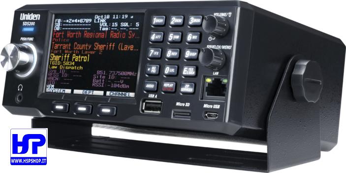 UNIDEN - SDS200E - DIGITAL SDR SCANNER - HardSoft Products