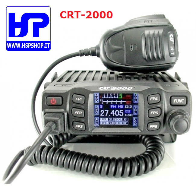 CRT-2000 - DIGITAL CB TRANSCEIVER