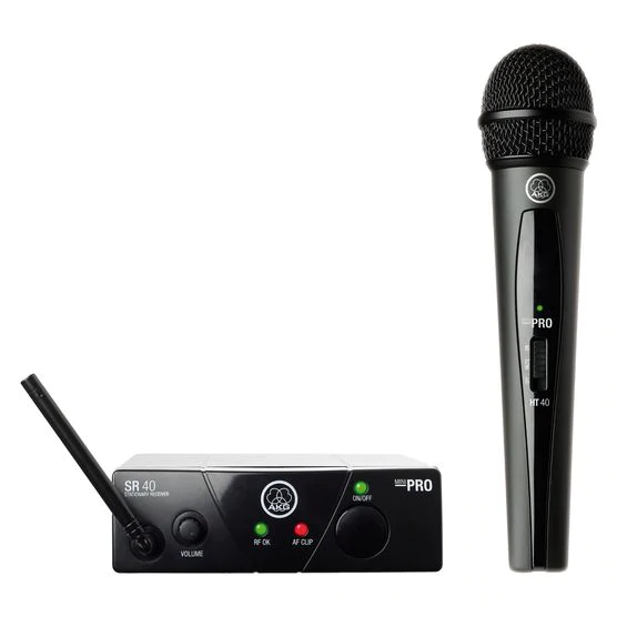 AKG - WMS 40 MINI VOCAL SET - RADIOMICROFONO