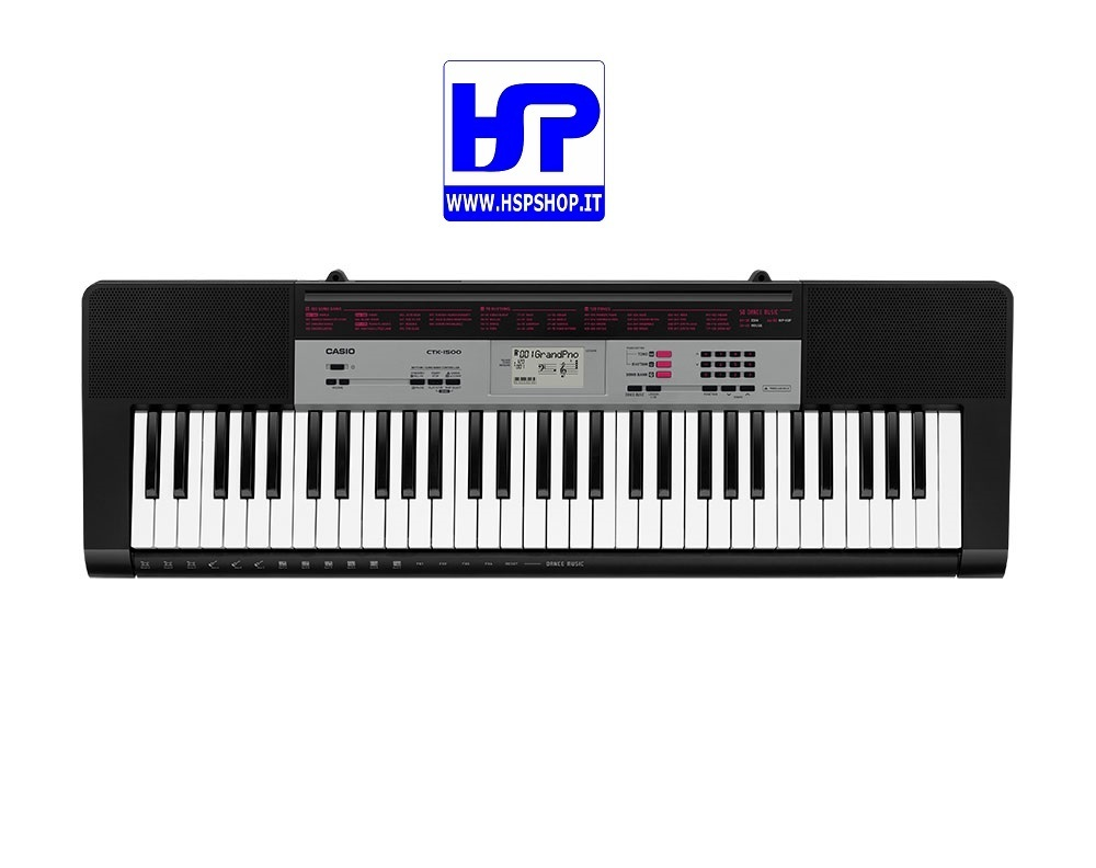 CASIO - CTK-1500 - 61 KEYS STANDARD KEYBOARD