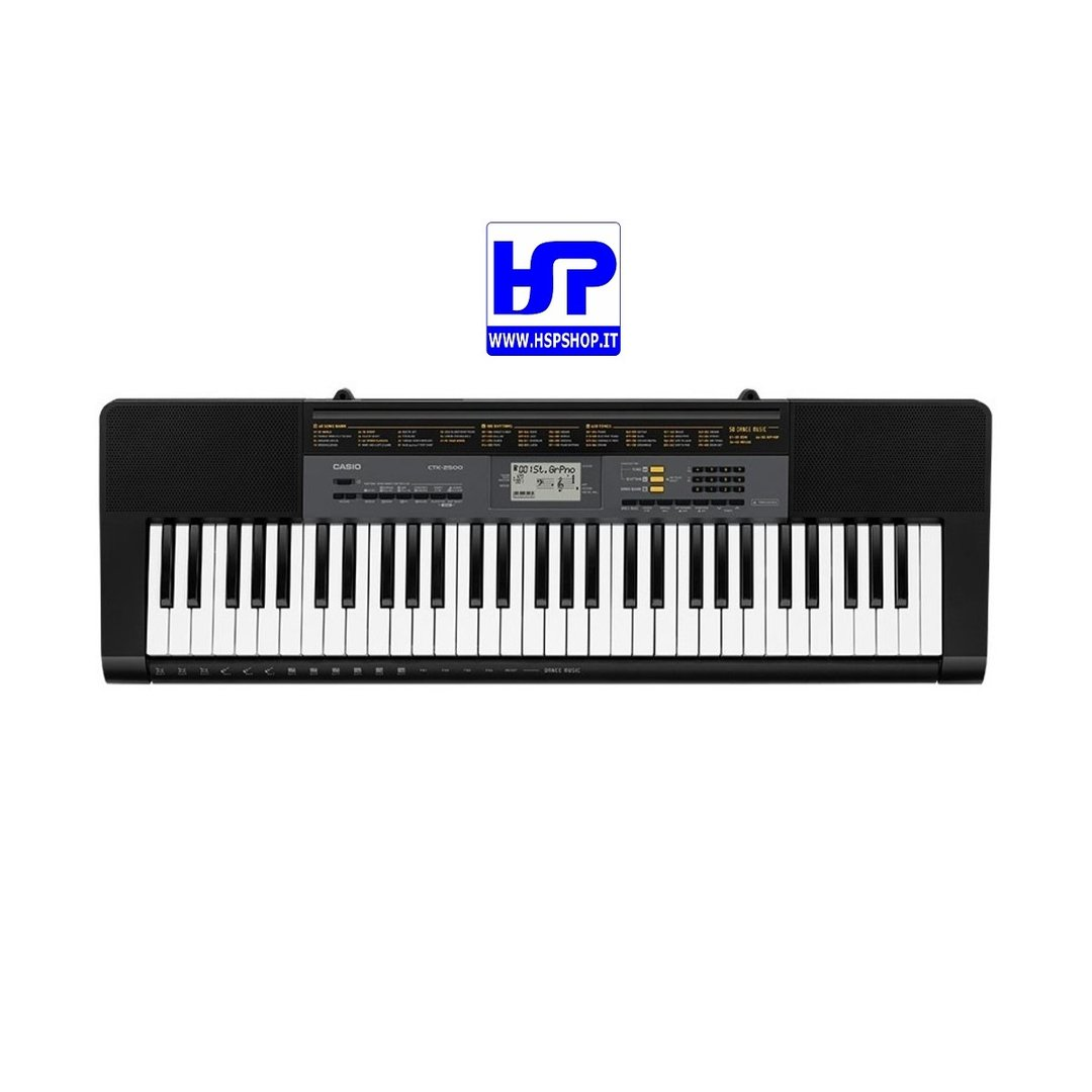 CASIO - CTK-2500 - 61 KEYS STANDARD KEYBOARD