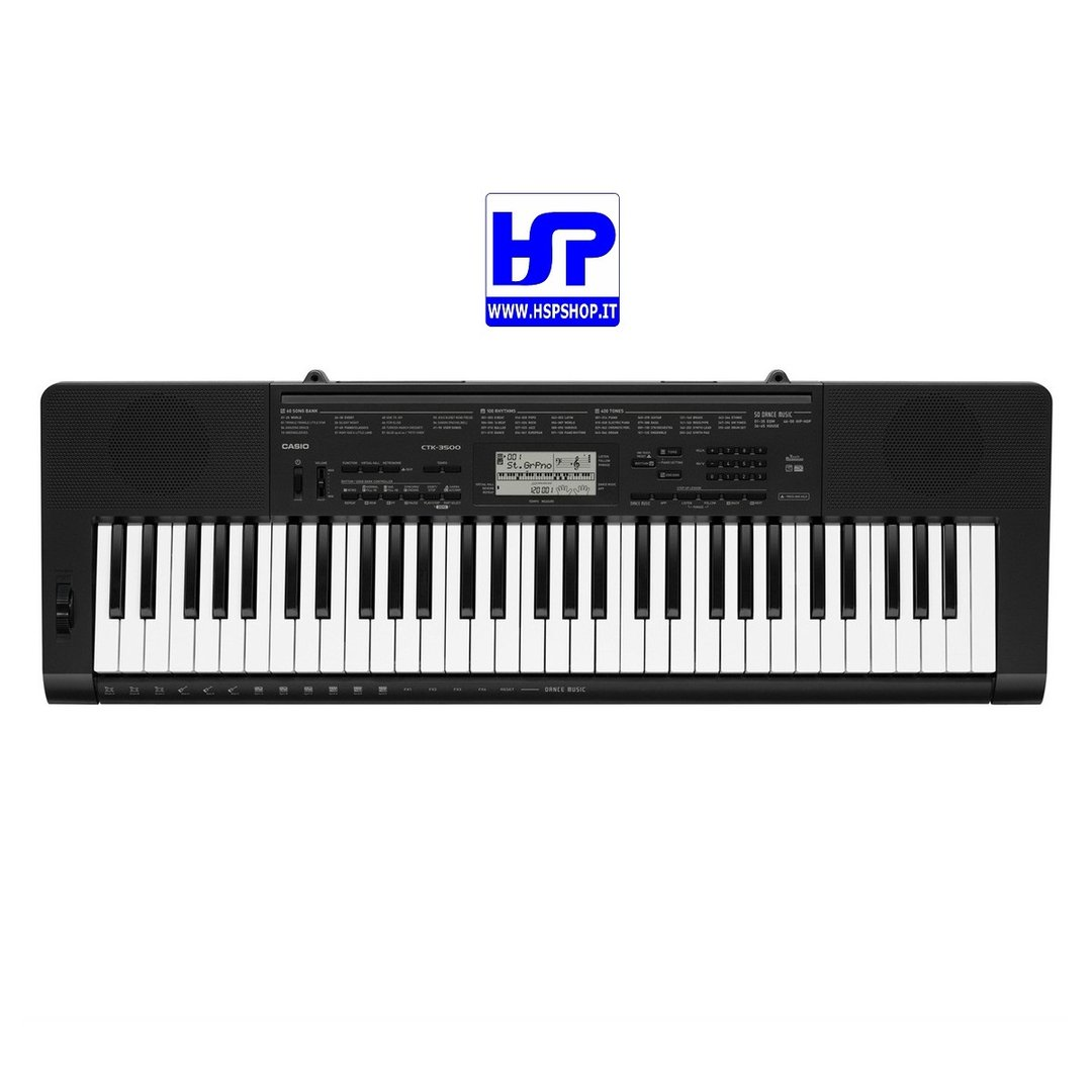 CASIO - CTK-3500 - 61 KEYS STANDARD KEYBOARD