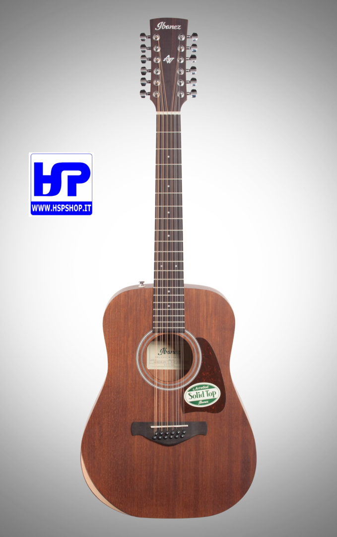 IBANEZ - AW5412JR-OPN -ACOUSTIC 12 STRING 3/4