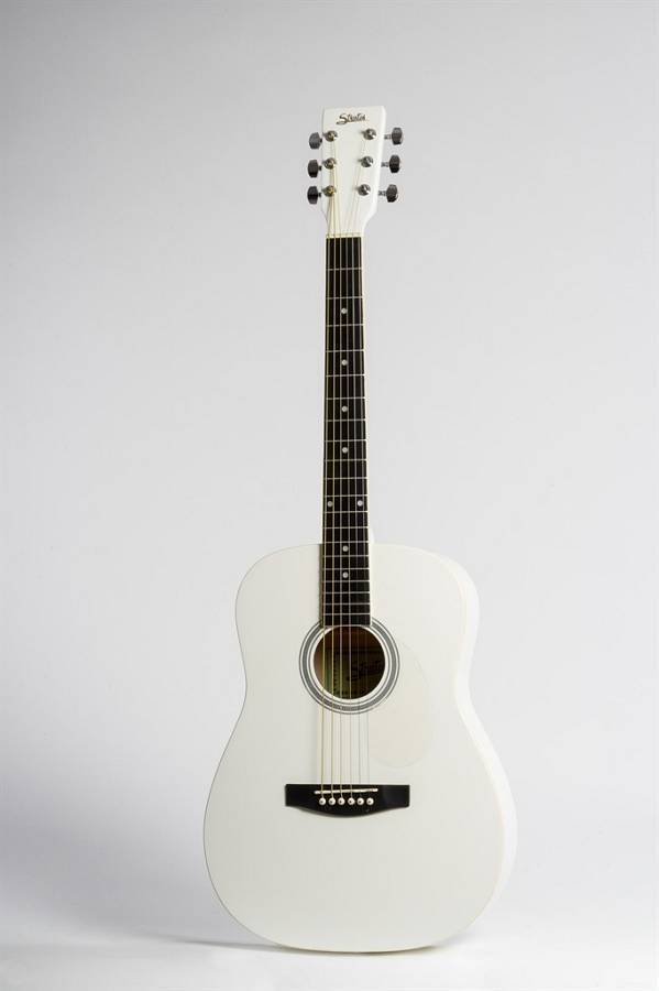 STRATOS - AG-60-WH - ACOUSTIC GUITAR