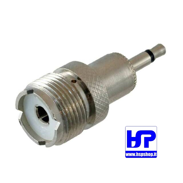 ADAPTER FROM 3.5 mm MALE PLUG TO SO-239