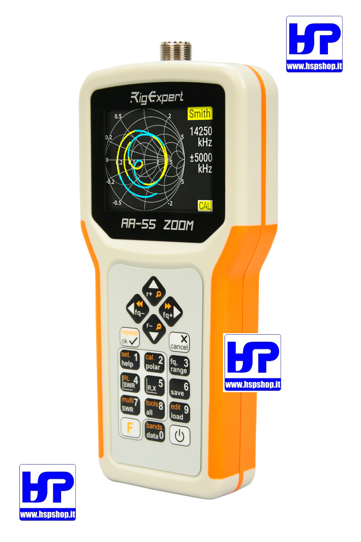RIGEXPERT - AA-55 ZOOM ANTENNA ANALYZER