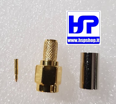 HSP - 021007 - CRIMP TYPE SMA-MALE RG58