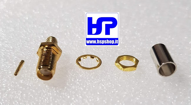 HSP - 021008 - CRIMP TYPE SMA-FEMALE RG58