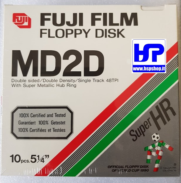 "FUJI - MD2D - 5.25"" FLOPPY DISK - BOX OF 10"