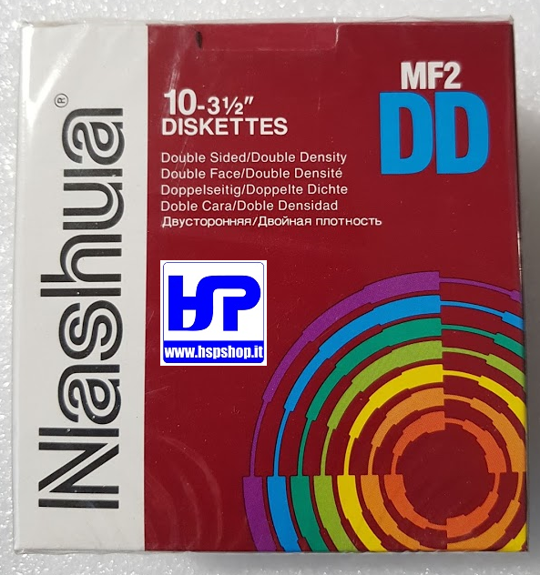 "NASHUA - MF2DD - 3.5"" FLOPPY DISK - BOX"