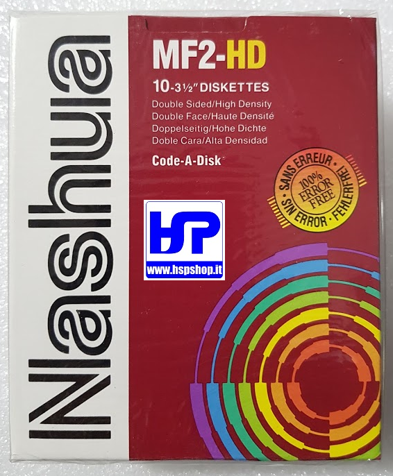 "NASHUA - MF2HD - 3.5"" FLOPPY DISK - BOX"