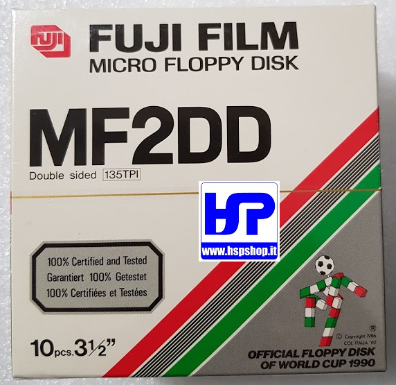 "FUJI - MF2DD - 3.5"" FLOPPY DISK - BOX DI 10"