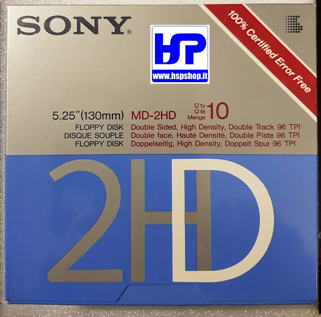"SONY - MD-2HD - 5.25"" FLOPPY DISK - BOX"