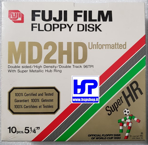 "FUJI - MD2HD - 5.25"" FLOPPY DISK - BOX OF 10"