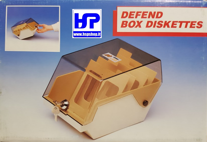 COVER - 6350 - BOX FOR 50 FLOPPY DISKS 5.25""
