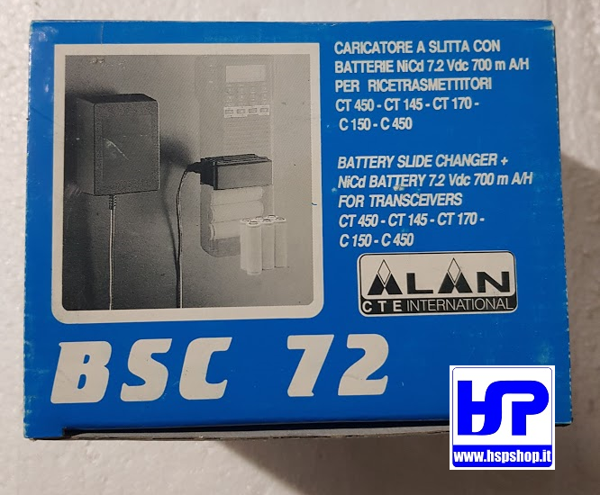 CTE - BSC 72 - SLIDE BATTERY CHARGER