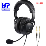 BH-009 - PRO STEREO HEADSET WITH MICROPHONE