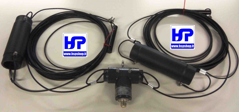PST2-4080C5 - TRAPPED DIPOLE 40-80 M - 5 kW